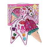 Juego de maquillaje para niñas de Rosemaryrose, juego de cosméticos, kit de maquillaje para niños, estilo de helado, juego de princesa, juego de juguetes para niñas aprenden a usar maquillaje