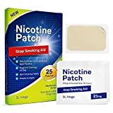 Stop Smoking Aid Nicotine Patch : Easy and Effective Anti-Smoking Stickers - Best Product to Quit Smoking [25 Patches]