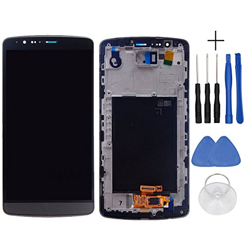 yyyu7yy Completo Display LCD di Ricambio Originale e Touch Screen Digitizer Assembly per LG G3 D855 D850