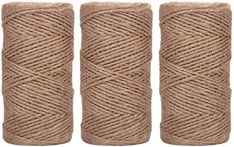 LiuliuBull L DIY Handmade Jute Rope Ply 3 New sales List price 2Mm Feet 1000 Natural