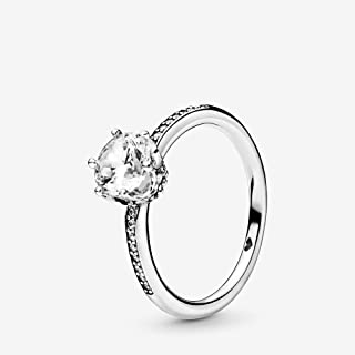 Sparkling Crown 925 Sterling Silver Ring