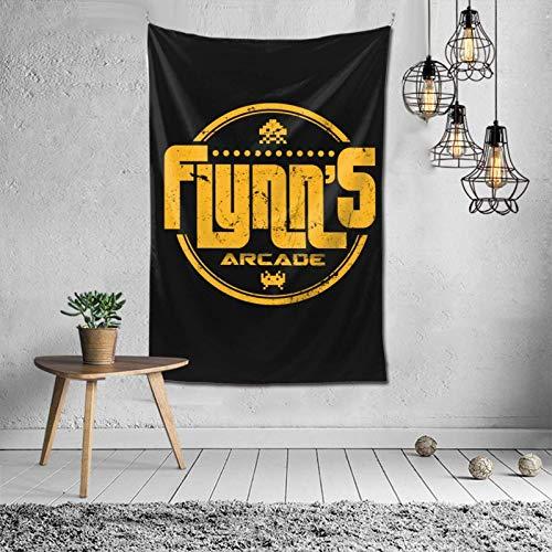 huatongxin Flynn 's Arcade Tapiz Habitación Dormitorio Decoración 60x40 Pulgadas