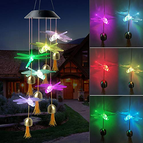 Dragonfly Solar Wind Chime $16.19 (40% OFF Coupon)