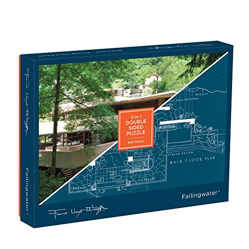 Frank Lloyd Wright: Fallingwater 2-Sided 500p Puzzle (Puzzles)