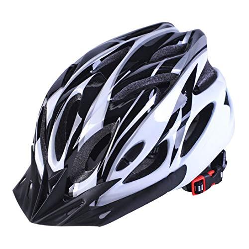 Cascos de Bicicleta WEIHAN Negro Mate Hombres Mujeres Casco de Ciclismo Luz...
