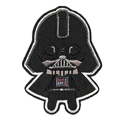 Star Wars The Phantom Menace Darth Vader Emoji Logo Iron on Patch
