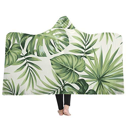 xkjymx Duschvorhänge Gestreifte Duschvorhang Badewanne Single Print Hut Decke Adult Hooded Coral Fleece