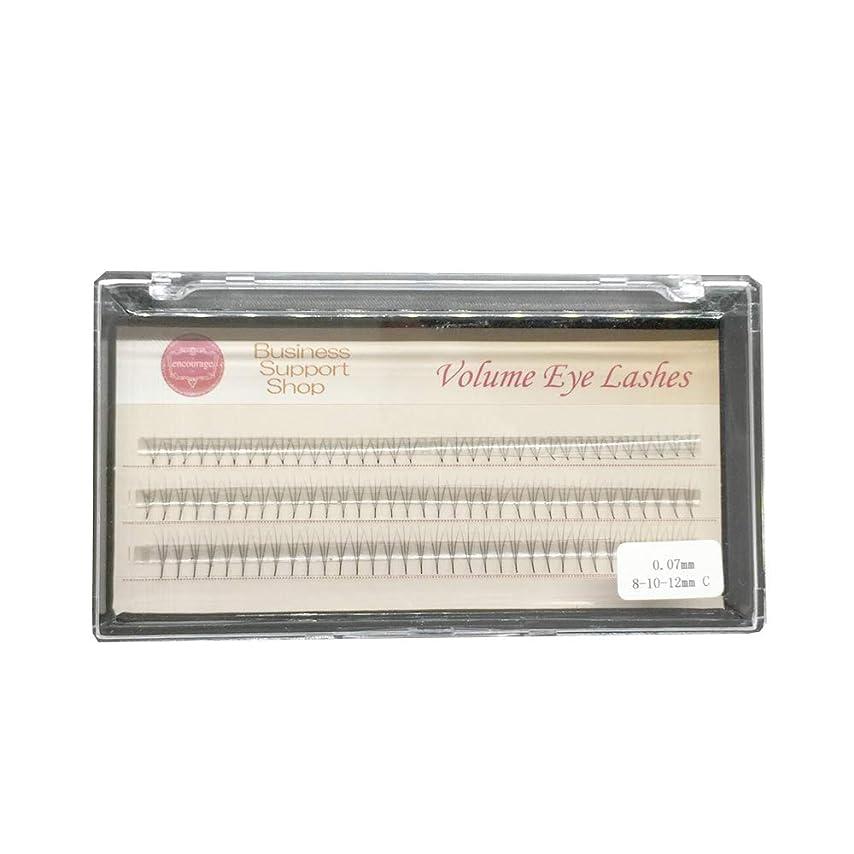 インディカ四虫を数えるまつげエクステ エアリーフレア Cカール(フレア数?長さ選択) 高級ミンク シートタイプ (3本フレア、8-10-12mm)