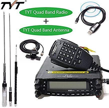 TYT TH-9800 Plus 50W 809CH Quad Band Dual Display Repeater Car Mobile...