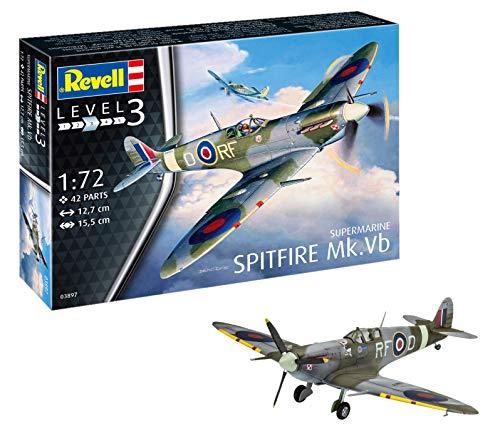 Modelo de avión Revell- Spitfire MK.  VB, 03897