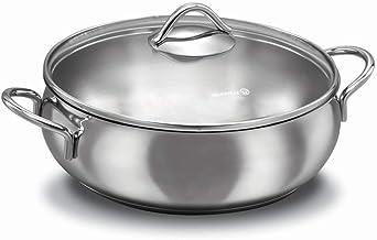 Korkmaz Tombik Stainless Steel Cookware 3.6 L, Silver, A1077