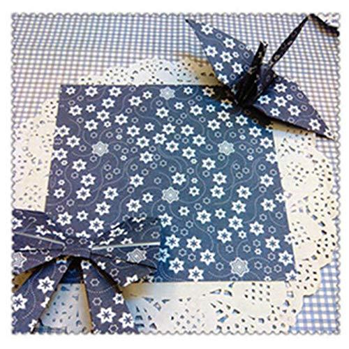 dyudyrujdtry alle wol en een tuin breed 68 stks/pak Origami Willekeurige Patroon Vierkant Papier Dubbelzijdig Craft DIY Kleurrijke Scrap boeking Nieuwe Handgemaakte Papier Mix Kleur Papier in fijne stijl(None 15 cm)