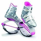 Kangoo Jumps XR 3 - Botas de salto para fitness para mujer, multicolor (blanco y rosa), talla 39-41 (M)