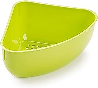 علبة استحمام بلاستيكية من بلاستك فورتي، لون أخضر