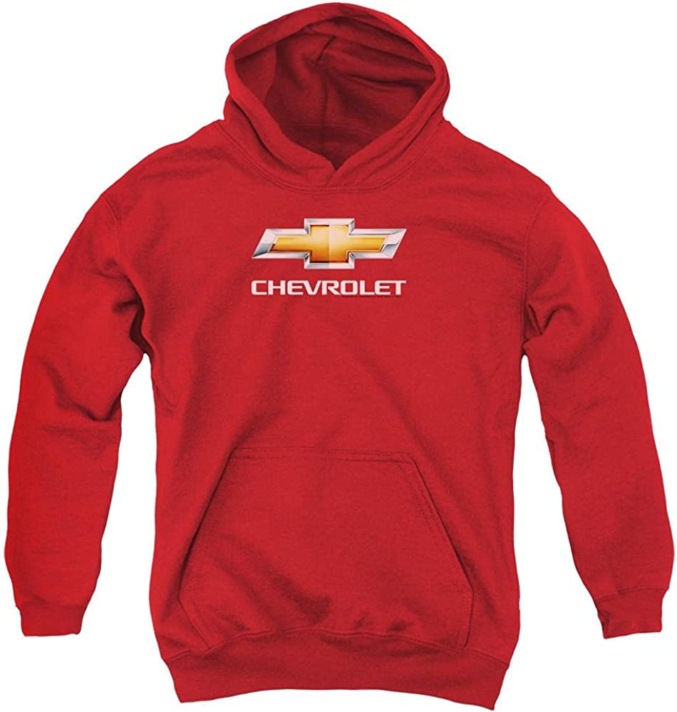 Chevy Bowtie All items free shipping Stacked Youth Columbus Mall Hoodie Pull-Over