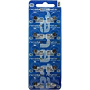Renata Silver Oxide Watch Battery 364 - SR621SW (10 Batteries) ...