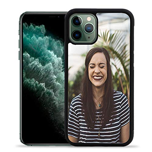 Getsingular Fundas de móvil iPhone 11 Pro Personalizadas con Fotos y Texto | Fundas Negras con los Laterales Flexibles para iPhone (iPhone 11 Pro)
