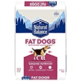 Natural Balance Fat Dogs Low Calorie Dry Dog Food, Chicken Meal, Salmon Meal, Garbanzo Beans, Peas & Oatmeal, 15 Pounds (Packaging May Vary)