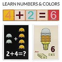 TOP BRIGHT Set Gelato Giocattolo – Gioco Gelateria – Gioco Educativo di Matematica e Sviluppo Abilità Cognitive con Cibo Finto per Bambini #2
