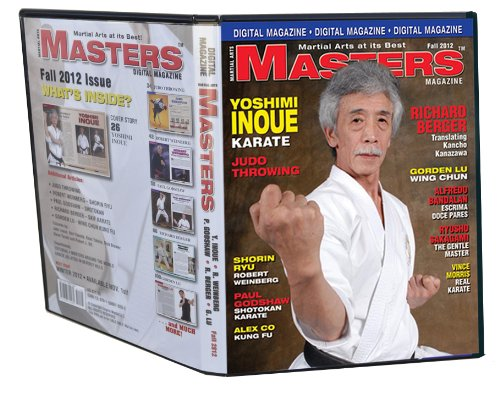 2012 Fall Issue of Martial Arts Masters Magazine Dvd/cd Set