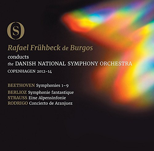 Ludwig Van Beethoven - The Symphonies - Burgos/Danish National So (3 Blu-Ray)