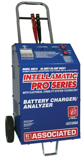 Associated Equipment 6007A Intellamatic Pro 12V 40 Amp Charger with Wheels