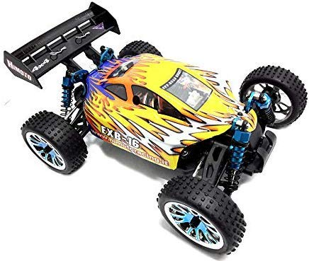 Himoto Buggy brushless EXB-16 1/16 off-Road con RADIOCOMANDO 2.4Ghz 1:16