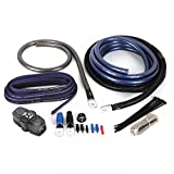 NVX XAPK0 True Spec 1/0 Gauge 100% Copper Single Amp Wiring Kit with 12 Gauge Speaker Wire