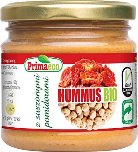 Hummus mit sonnengetrockneten Tomaten BIO 160 g - PRIMAECO