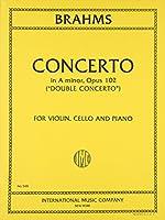 ブラームス: バイオリンとチェロのための二重協奏曲 イ短調 Op.102/インターナショナル・ミュージック社/室内楽パート譜セット 三重奏