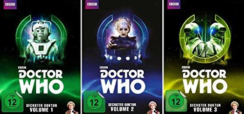 Doctor Who - Sechster Doktor Vols. 1-3 (15 DVDs)