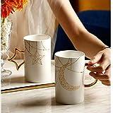 NYKK Tazas Compromiso de la Boda del día del Regalo del Aniversario Regalo for la Esposa y romántico Regalo de la Novia Taza de café Pareja de Set-Valentine Tazas para Parejas