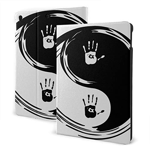 Custom Ipad Case 2019 Ipad Air3/2017 Ipad Pro 10.5 Inch Case/2019 Ipad 7th 10.2 Inch Case Yin Yang Heart Hands Ipad Cover For Women Auto Wake/sleep