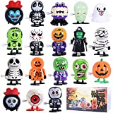 Max Fun 18 Pack Halloween Wind Up Toys Assortment for Halloween Party Favors Goody Bag Filler (Halloween)