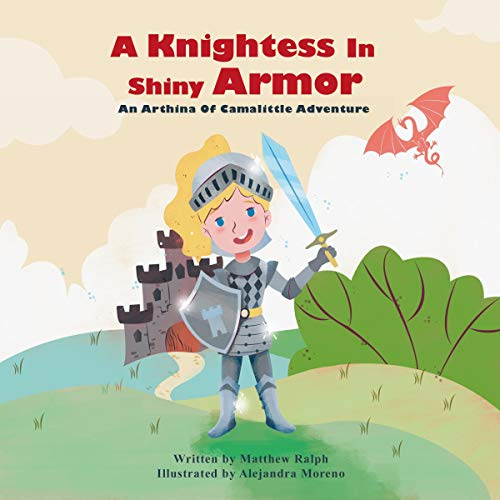 A Knightess in Shiny Armor audiobook cover art