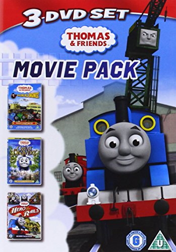 Thomas & Friends - Feature Triple Pack - Calling All Engines / Great Discovery / Hero Of The Rails [DVD] [2010] [Reino Unido]