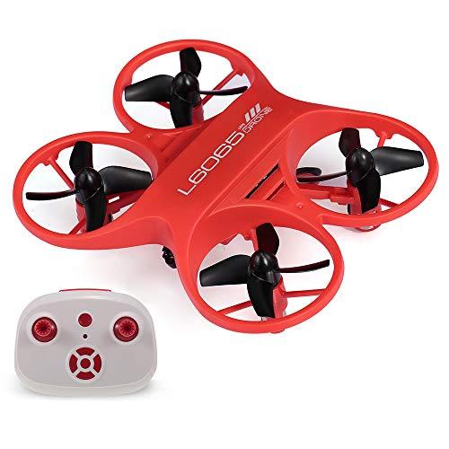Goolsky- LISHITOYS L6065 Mini RC Drone Quadcopter Controlado por Infrarrojos con Luz LED Regalo de Cumpleaños para Niños