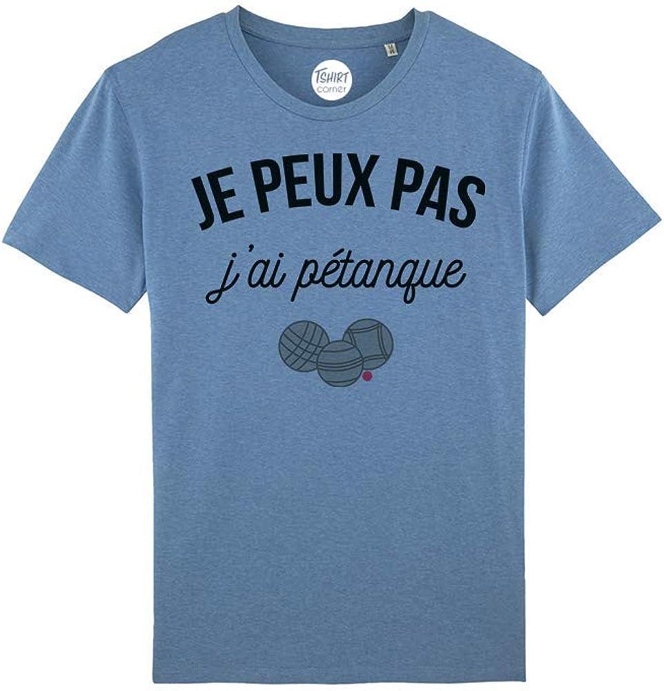 JPeux Pas Jai P/étanque Humour Cadeau Dr/ôle Boules P/étanque T-Shirt