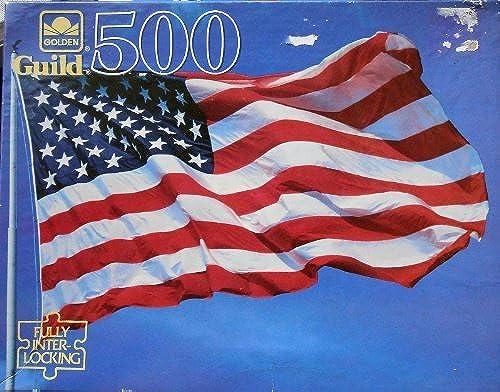primera vez respuesta Grand Old Flag - 500 Piece Puzzle Puzzle Puzzle 15.5 X 18 by oroen Guild  Tienda de moda y compras online.