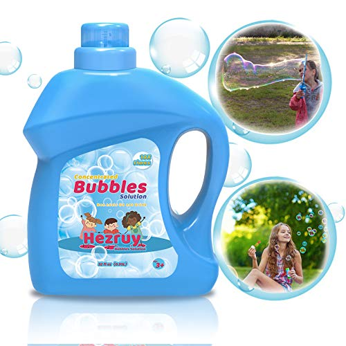 Toys Bubbles Concentrated Solution Refill 32 oz (up to 2.5 Gallon) Big Bubble...