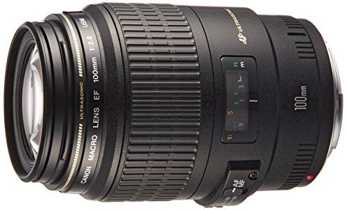 Canon 単焦点マクロレンズ EF100mm F2.8 マクロ USM フルサイズ対応