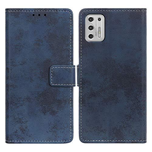 SULIAN Funda para Nokia 5.4, Premium Cuero Billetera Ranura Tarjeta Antichoque Funda para Nokia 5.4 6.39' - Azul