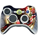 Comic Book Hero Vinyl Decal Sticker Skin by Compass Litho for Xbox 360 Wireless Controller