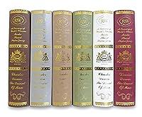 イミテーションブック 辞典 カラー 本 模型 フェイクブック インテリア (小6冊 セット)