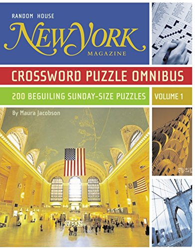 New York Magazine Crossword Puzz...