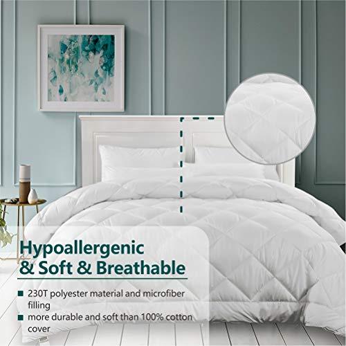 Cozynight Soft King Size Comforter Duvet Insert-Lightweight Down Alternative Comforter with Corner Tabs-Soft & Hypoallergenic& Breathable &...