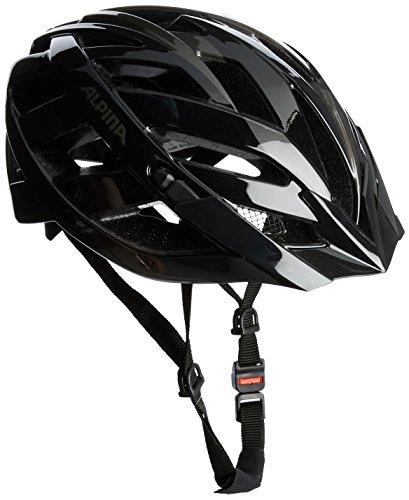 ALPINA Unisex - Erwachsene, PANOMA Fahrradhelm, black-anthracite, 56-59 cm