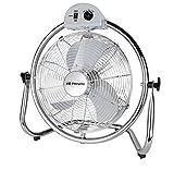 Orbegozo Ventilador Industrial PWO 0936, 45 W, Gris, Acero inoxidable
