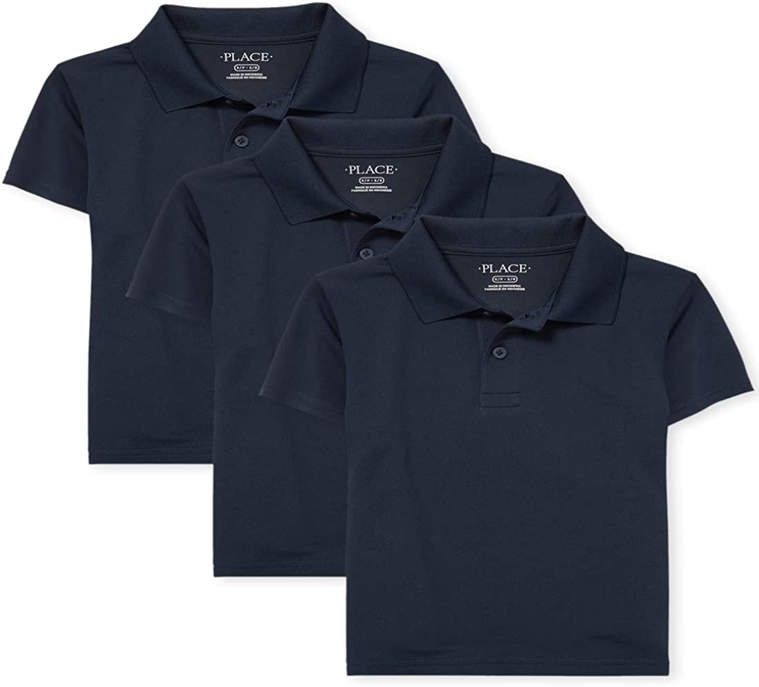 The Children's Place Boys' Short Sleeve Performance Polo