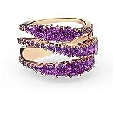 Swarovski Anillo Twist Wrap 5572714 Mujer Violeta